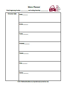 FlyLady Compatible Printable Planner Pages | TheHomeSchoolMom