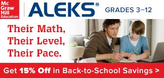 ALEKS Math - Get 15% off!