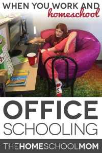 Office Schooling: One Way to Work and Homeschool