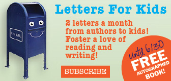 Rumpus Letters for Kids June Offer: Free Autographed Book