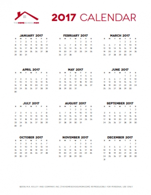 Free Homeschool Planner (Year at a Glance)