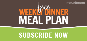 Text: Free Weekly Dinner Meal Plans - Subscribe Now