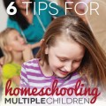 TheHomeSchoolMom Blog: 6 Tips for Homeschooling Multiple Children