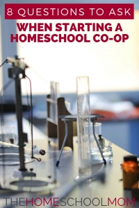TheHomeSchoolMom Blog: 8 Questions to Ask When Starting a Homeschool Co-op