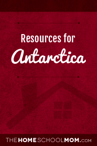 Resources for studying about Antarctica