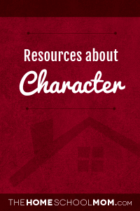 Resources for studying about character