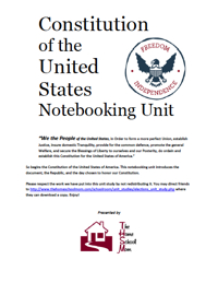 TheHomeSchoolMom: US Constitution Unit Study