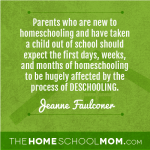 "What is ""deschooling""?"