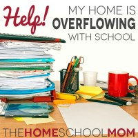 TheHomeSchoolMom Blog: Homeschool Organization