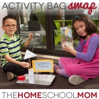 Put homeschooling in the bag with a homeschooling activity bag swap