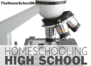 TheHomeSchoolMom: Homeschooling High School