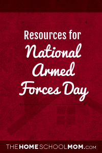 Resources for National Armed Forces Day