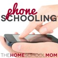 Phone schooling for families on the go