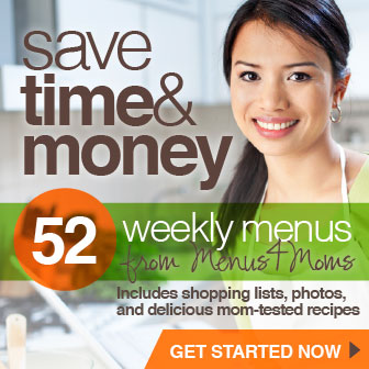 Save Time and Money with Menus4Moms 52 Week Menu Packs