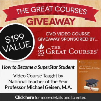 TheHomeSchoolMom Giveaway: How to Become a SuperStar Student from The Great Courses